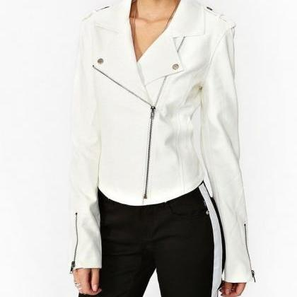 New womens genuine leather jacket, ..