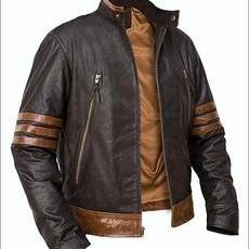 X-MEN LEATHER JACKET, REAL LEATHER ..