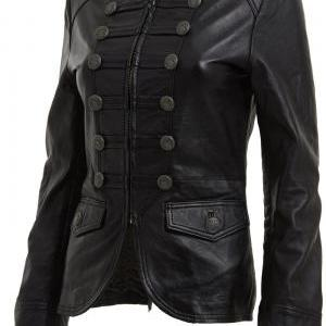 Women's Military Style Embellished ..