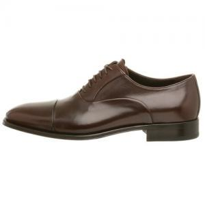 HANDMADE BROWN LEATHER SHOES, MEN H..