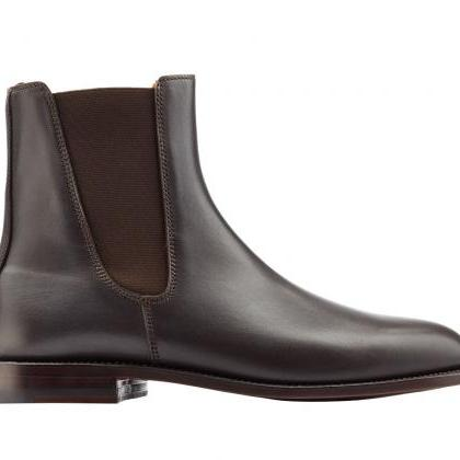 Handmade Chelsea boots, Men genuine..