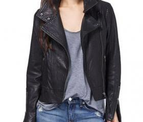 WOMEN LEATHER JACKET..