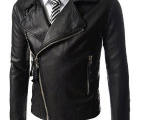 Men Biker leather ja..