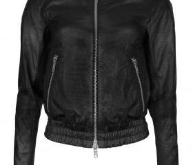 Women Leather Bomber..