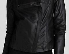 Womens leather jacke..