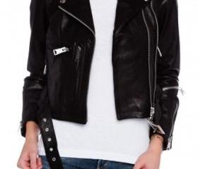 WOMENS BIKER LEATHER..