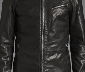 MENS BIKER LEATHER J..