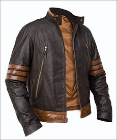 X-MEN LEATHER JACKET, REAL LEATHER JACKET