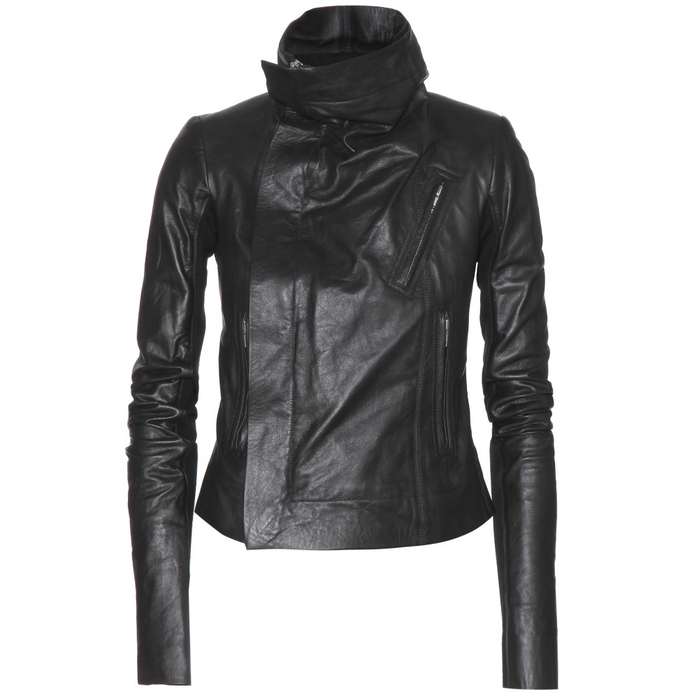 HANDMADE WOMEN CLASSIC BIKER LEATHER JACKET