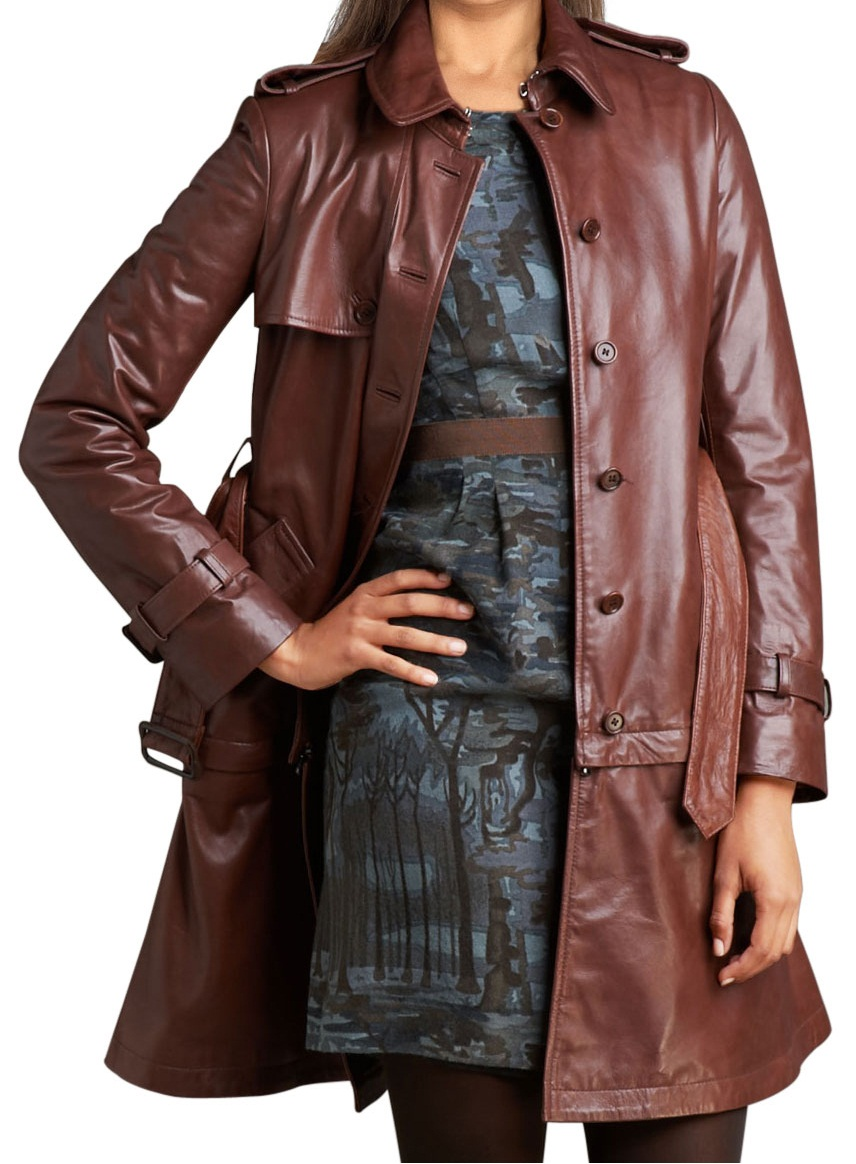 4835d5be11 WOMEN LONG COAT, WOMEN LEATHER TRENCH COAT, LONG LEATHER JACKET , WOMENS  LEATHER COAT