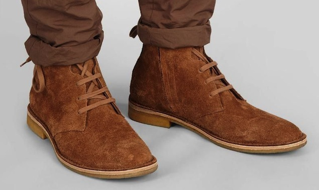 ccaef70a37049 Handmade Mens Suede Leather Boots With Crepe Sole, Mens Suede Ankle Leather  Boot