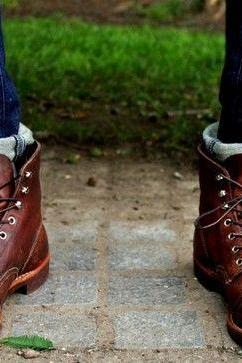 Handmade Men Brown Ankle leather boots, Men leather boots, Ankle boots for mens