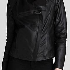 WOMENS BLACK LEATHER JACKET, BLACK REAL LEATHER JACKET WOMENS