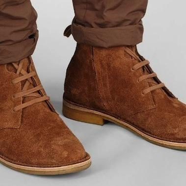 Handmade Mens suede leather boots with crepe sole, Mens suede ankle leather boot